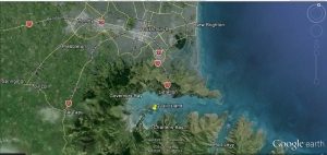Quail Island, Lyttleton Harbour Christchurch area overview